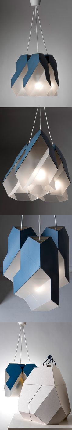 Collage ceilling lamp Polygon-9