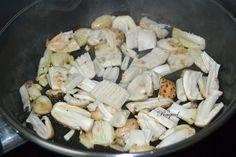 Mi Diversión en la cocina: Tortilla con bolets de tinta