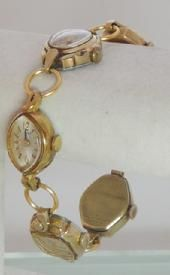 Connecting old watches to create a bracelet. Have one and recieved alot of compliments, people are curious!