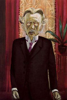 Otto Dix, Portrait of Dr. Heinrich Stadelmann, 1920.