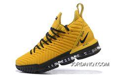 Nike LeBron 16 Yellow/Black PE Buy Now