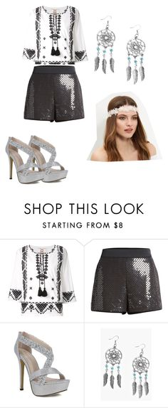 """""""DISCO"""" by nishadnancy on Polyvore featuring Figue, Moschino, Boohoo and New Look"""