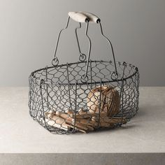 Wire Trug | The White Company