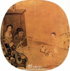 南宋 李嵩 骷髅幻戏图