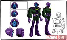 Final color art for Kang from 'The Avengers: Earth's Mightiest Heroes!' | Marvel.com