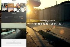 Photographer - Creative PSD Templates Photographer - Creative is a clean and modern psd template for your personal photography portfolio by Petter Berg Photography Website, Photography Portfolio, Free Icon Fonts, Psd Templates, Design Templates, Business Templates, Business Card Logo, Web Business, Business Illustration