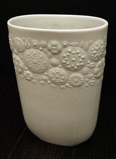 Lovely vintage vase by one of my favorite artists, Bjorn Wiinblad.