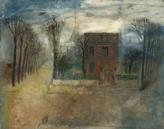 Paris by Jury Annenkov (1889-1974, Russia)