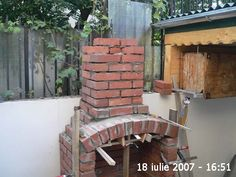 jpg, Even though early within concept, Outdoor Fireplace Patio, Outdoor Kitchen Patio, Outdoor Oven, Pergola Patio, Backyard, Barbeque Design, Grill Design, Patio Design, Building A Brick Wall