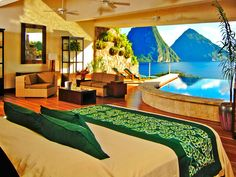 <p>What's better than lounging by a pool on a Caribbean island? Lounging by your own private pool on a Caribbean island. These 10 Caribbean resorts offer suites and villas with their own private plunge pools, for the ultimate luxury and privacy.</p>