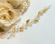 Bridal Hair Vine Crystal HeadPiece Opal Halo Bridal Hairpiece