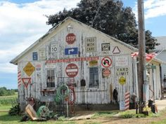 Driving back from Galena, Illinois - JUNKMARKET Style