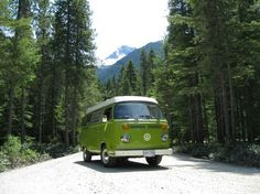 VW camper! hope this want became of.our van...lost it following Lewis and Clark