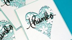 Creating faux laser cut cards. ***SUPPLIES ARE LISTED BELOW.*** For more info: http://www.jennifermcguireink.com/?p=17370 ****SUPPLIES**** (Multiple sources ...