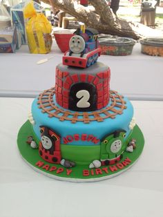 Thomas the train fondant