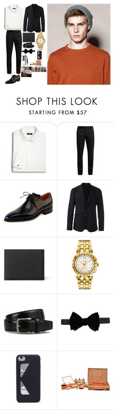 """Akecheta"" by precioushillton on Polyvore featuring Saks Fifth Avenue, Yves Saint Laurent, Corthay, Emporio Armani, Versace, Tod's, Lanvin, Fendi, Hermès and Cedes"