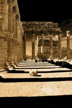 """gwebarchaeology: """" travelingcolors: Bel Temple in Palmyra Ancient Ruins, Ancient Rome, Ancient Greece, Ancient History, Roman Architecture, Ancient Architecture, Historical Architecture, Places Around The World, Around The Worlds"""