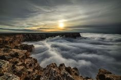 """Photographer Harun Mehmedinovic captured a rare weather phenomenon this year when the Grand Canyon was filled with a stunning sea of clouds. Though it happened last year, as well, a total cloud inversion is still difficult to witness as it's only suppose to happen a few times in a decade. """"Given how rare the event is, it's very hard to exactly gauge when the inversion will happen, otherwise there would have been hundreds of photographers there that day,"""" Harun told us. """"I work with BBC ..."""