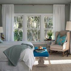 Gray Wisp, Transitional, bedroom, Benjamin Moore Gray Wisp, Reu Architects