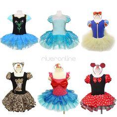 Toddler-Girls-Ballet-Tulle-Tutu-Dance-Wear-Costume-Dress-Kid-Party-Leotard-Skirt