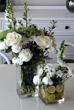 Beautiful white floral arrangement....