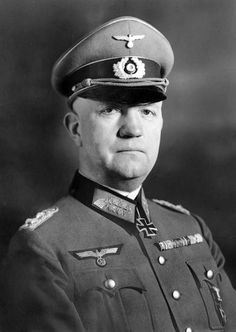 Friedrich Fromm (8 October 1888 – 12 March 1945) was a German army officer. A recipient of the Knight's Cross of the Iron Cross, he was executed for failing to act against the 20 July plot to assassinate Hitler.