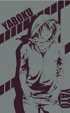 Noragami - Art by w-e-n-z-i For me he is still Yato and not Yaboku. He had a reason to change his Name.