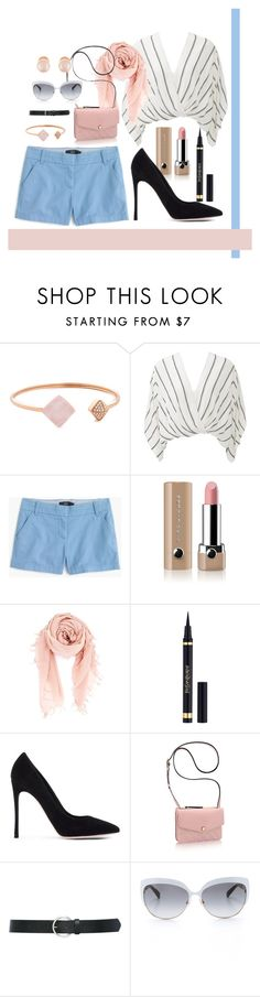 """""""Untitled #249"""" by romi-kella on Polyvore featuring Michael Kors, Free People, J.Crew, Marc Jacobs, Chan Luu, Yves Saint Laurent, Gianvito Rossi, Empreinte, M&Co and Kate Spade"""