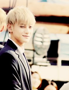 Spine shivering wink from Tao 타오 from EXO 엑소