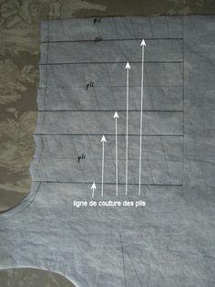 Comment faire de beaux plis creux - Fil Hélène Point Comme...