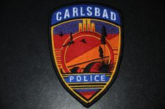 Carlsbad Police Patch, Eddy County, New Mexico (Current Issue)