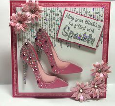 Geburtstagskarte Diy For Women Kids 22 Trendy Ideas, 40th Birthday Cards, Bday Cards, Handmade Birthday Cards, Greeting Cards Handmade, Diy Birthday, Female Birthday Cards, Personalised Cards, Birthday Celebration, Chloes Creative Cards