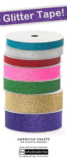 I could use tis glitter tape to cover the V's on the set.  American Crafts - Glitter Tape!!! Forget the boring clear stuff and piece together projects with Glitter Tape.