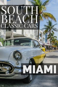 South Beach Miami classic cars along Ocean Beach Miami. Explore the famous Miami Art Deco district of Ocean drive with their Miami classic car collections which provide great Miami photography locations. From Miami Beach to South Beach, these neighborhoods will make the perfect Miami Vacation. Discover more in our top things to do in Miami Travel guide.