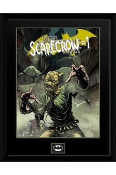 DC Comics Scarecrow Alley Framed Collector Print