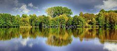 """""""forest mirroring"""" von Bernd Hoyen #fotografie #photography #fotokunst #photoart #digitalart #wald #wälder #forest #forests #grün #green #blau #blue #spiegelung #spiegelungen #reflection #reflections #wasserspiegelung #wasserspiegelungen #natur #nature #landschaft #landschaften #landscape #landscapes #deutschland #germany #saarland"""