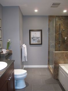 Sherwin Williams Essential Gray- also potential living room color