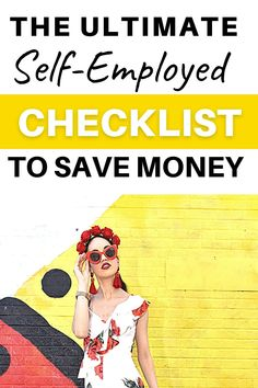 Are you self-employed and want to save money? Or are you a freelancer who is confused about taxes, taking out life insurance or working from home and creating a legit income? With my self-employed checklist, you will learn how to create a monthly budget and cut excess spending costs, set aside an emergency fund and make smart financial choices. Make Easy Money, Ways To Save Money, Money Saving Tips, Financial Tips, Financial Planning, Business Sustainability, Money Bags, Top Blogs, Monthly Budget