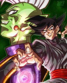 Dbz, Zamasu Fusion, Zamasu Black, Saga, Manga Dragon, Ball Drawing, Dragon Ball Image, Fan Art, King Kong