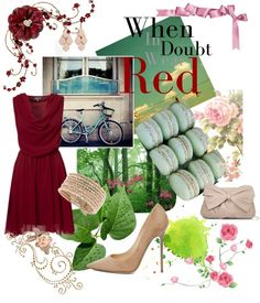 """""""RED"""" by aniri310 on Polyvore"""