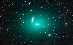 Green comet 41P/Tuttle-Giacobini-Kresak is flying over Earth's North Pole this week where sky watchers can find it all night long not far from the bowl of