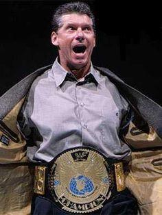 Vince McMahon - WWF Champion