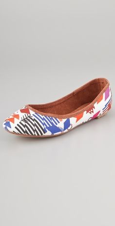 Osborn Hand Patterned Flats thestylecure.com