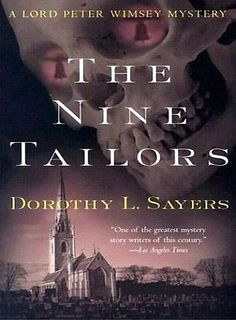 The Nine Tailors by Dorothy L. Sayers.  This was great!!! I highly recommend it (if you like mysteries and being scared nearly to death) though I'm warning you so you'll be well prepared in advance because it's been half an hour -since I completed it- and I'm still a little shaky. It was SCARY! I'm gonna' have nightmares tonight. It's not every mystery where the murderer isn't a person but a... well, I'm not going to tell you because you should read it for yourself :/