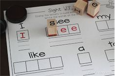 Miss Kindergarten: Stamp it Up!