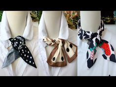 15 Ways To Wea a Scarf + How -To Tips ! Best Ways to Wear a Scarf (part 8) - YouTube Ways To Tie Scarves, Ways To Wear A Scarf, How To Wear Scarves, Diy Fashion Hacks, Fashion Tips, She Is Clothed, Scarf Design, Diy Accessories, Fashion Over 50