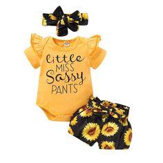 Little Miss Sassy Pants Onesie multiple colors 0-24mo