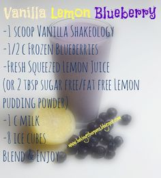 Banana smoothie with blender - Clean Eating Snacks Herbalife Shake Recipes, Protein Shake Recipes, Protein Shakes, Healthy Shakes, Smoothie Recipes, Vanilla Shakeology, Shakeology Shakes, Magic Bullet Recipes, Weight Watcher Smoothies