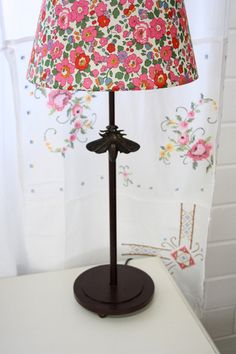 abeille - sweet floral liberty of london lampshade