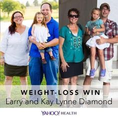 Weight-Loss Win is an original Yahoo Health series that shares the inspiring stories of people who have shed pounds healthfully.This week's Weight-Loss Win is a double success story: Larry Diamond, 50, and Kay Lynne Diamond, 47, who are married. Back in May 2013, Larry, who is 5′9″, weighed 290 pounds